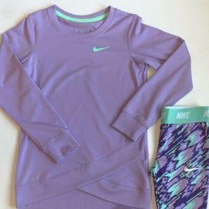 Preschool Girls' Nike Dri-Fit Long Sleeve Tunic
